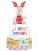 Picture of 320 Piglet Baby Girl Diaper Cake