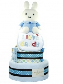 Picture of 327 Miffy Blue Baby Boy Diaper Cake