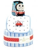 Picture of 325 Thomas Car 2-Tier Diaper Cake