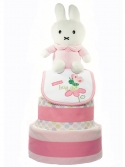 Picture of 320 Miffy Pink Baby Girl Diaper Cake