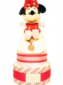 Picture of 337 Red Dot Minnie Mouse Diaper Cake
