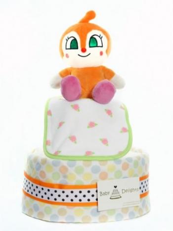 Picture of 298 Orange Anpanman Melon Diaper Cake