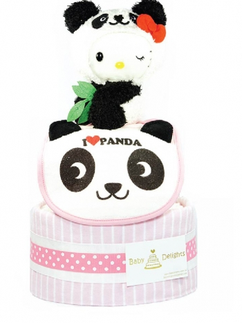 Picture of 332 Hello Kitty X Panda Diaper Cake