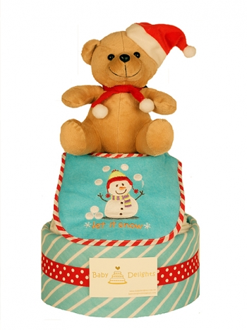Picture of 351 X'mas Santa Teddy Bear Cake