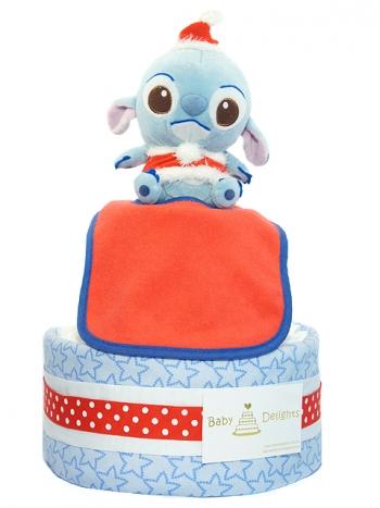 Picture of 346 X'mas Stitches Boy Diaper Cake